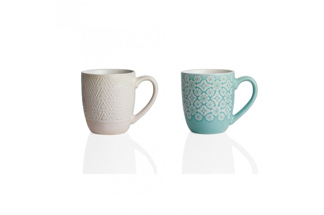 Set 2 căni din ceramică Brandani Alistor Căni