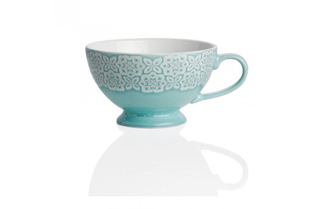 Cană din ceramică cu mâner, Brandani Alice, albastru Căni