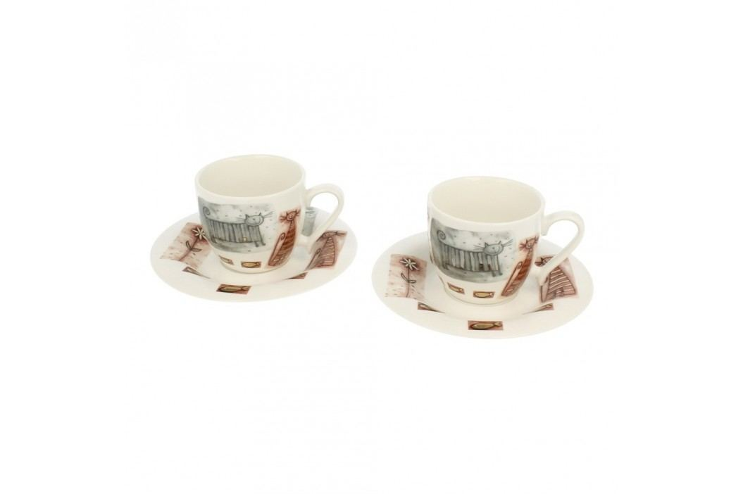 Set 2 cești din porțelan Duo Gift Poppy, 250 ml Cadouri
