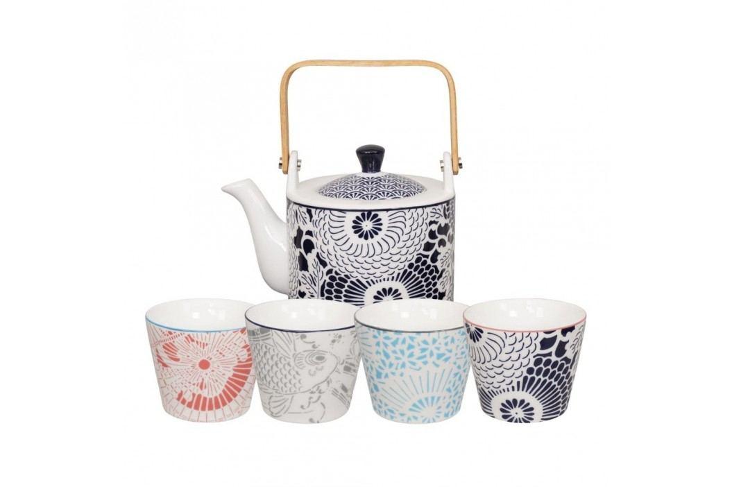 Set 5 piese pentru ceai Tokyo Design Studio Shiki Căni