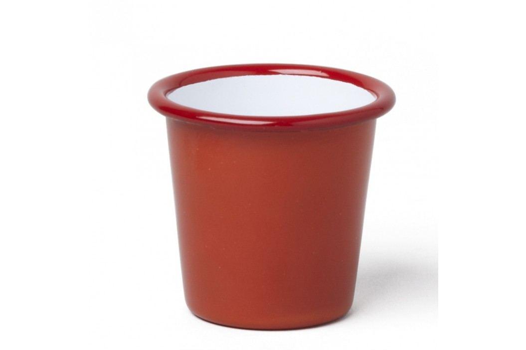 Pahar smălțuit Falcon Enamelware, 124 ml, roșu Căni