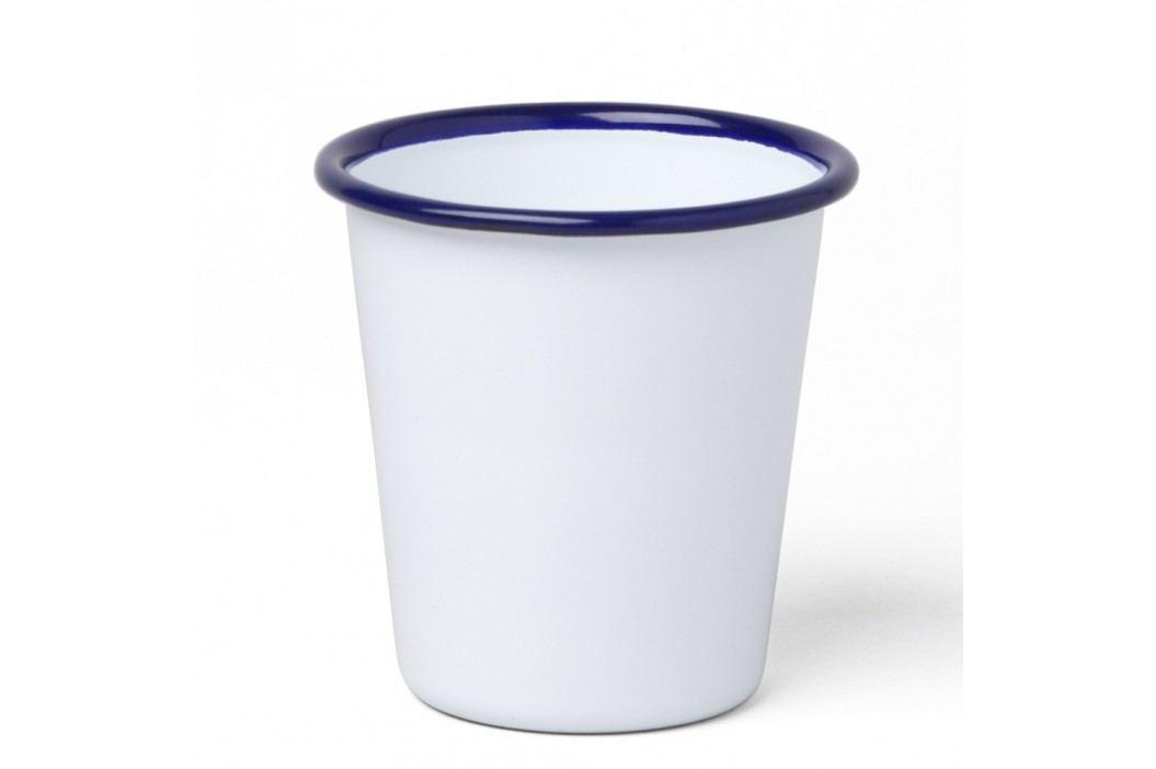 Pahar smălțuit Falcon Enamelware, 310 ml, alb-alabstru Căni