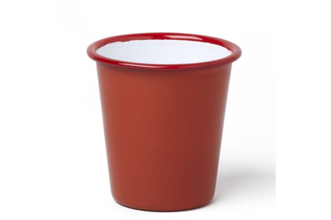Pahar smălțuit Falcon Enamelware, 310 ml, roșu Căni