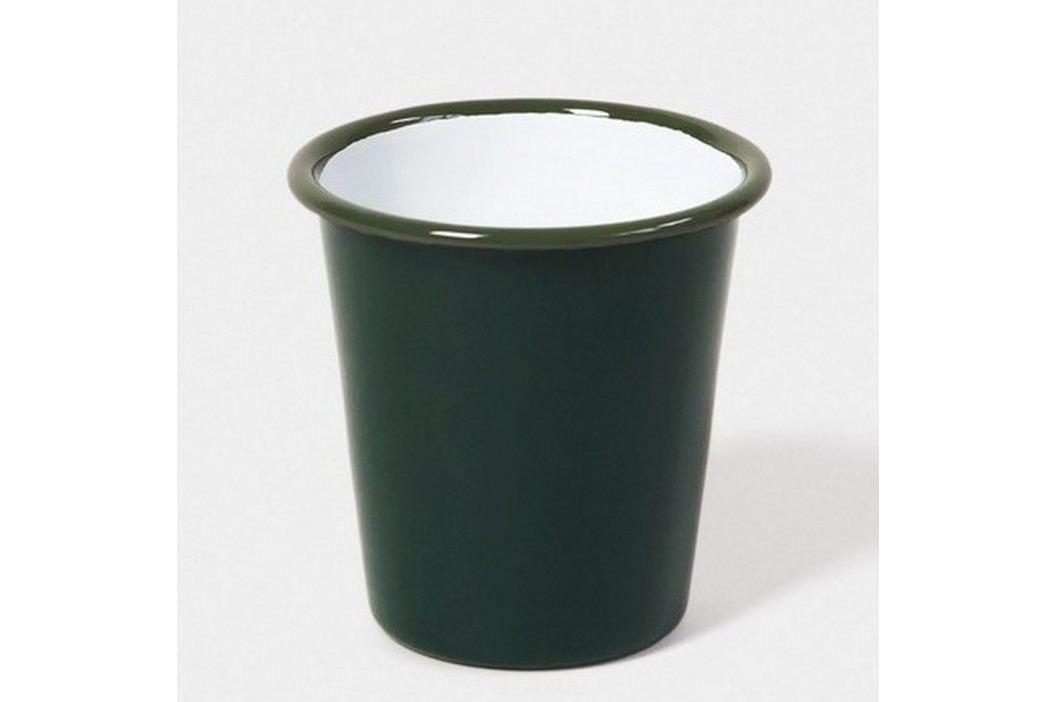 Pahar smălțuit Falcon Enamelware, 310 ml, verde închis Căni