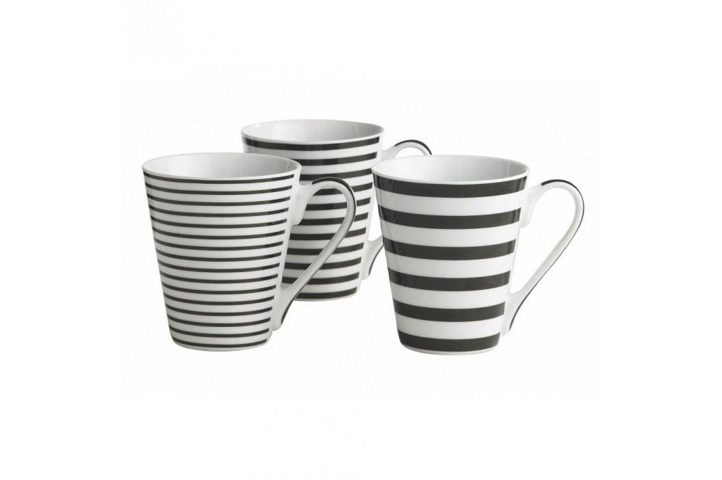 Set 3 căni KJ Collection Stripes, 300 ml Căni