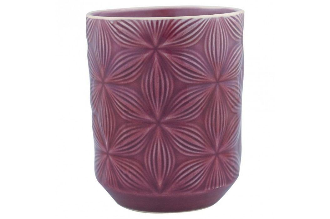 Pahar din ceramică Green Gate Kallia, mov Căni