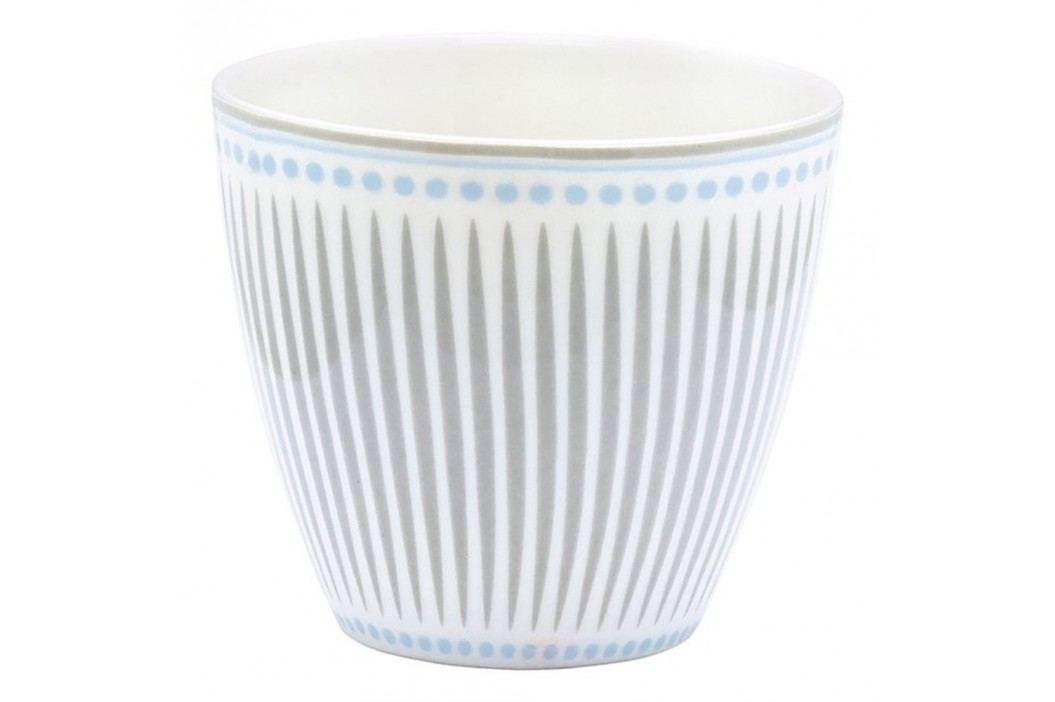 Pahar din ceramică Green Gate Vita Latté, gri-albastru Căni