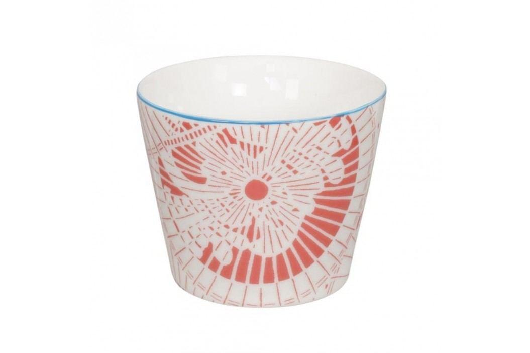 Cană din porțelan Tokyo Design Studio Shiki, 180 ml, alb-roșu Căni