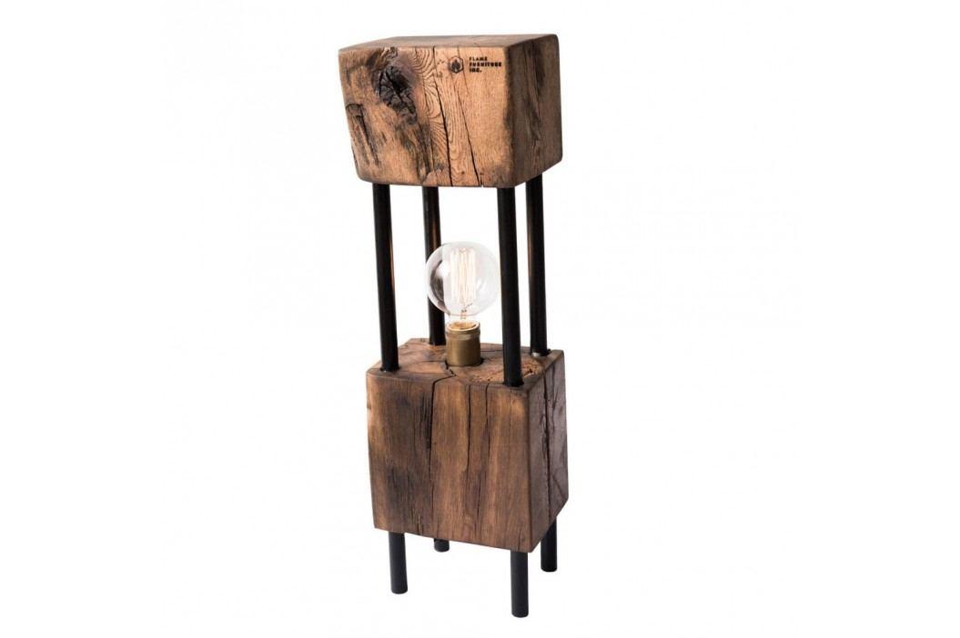 Veioză din lemn de stejar FLAME furniture Inc. Monolit Veioze