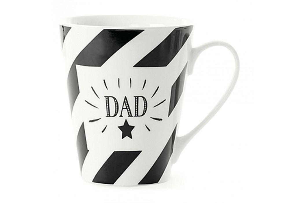 Cană din porțelan Miss Étoile Coffee Dad, Ø 8,5 cm Căni