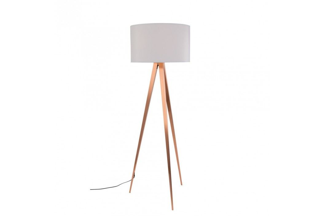 Lampadar Zuiver Tripod, alb - alămiu Lampi de podea
