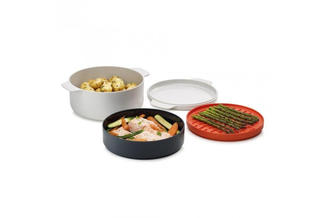 Set 4 recipiente pentru mâncare preparată în cuptorul cu microunde Joseph Joseph M-Cuisine Oale și cratițe