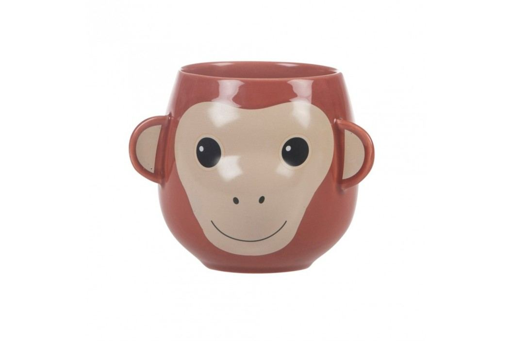 Cană Sass & Belle Treetop Friends Happy Monkey Mug Căni