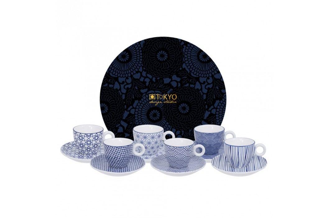 Set 6 cești cu farfurioară pentru espresso Tokyo Design Studio Căni