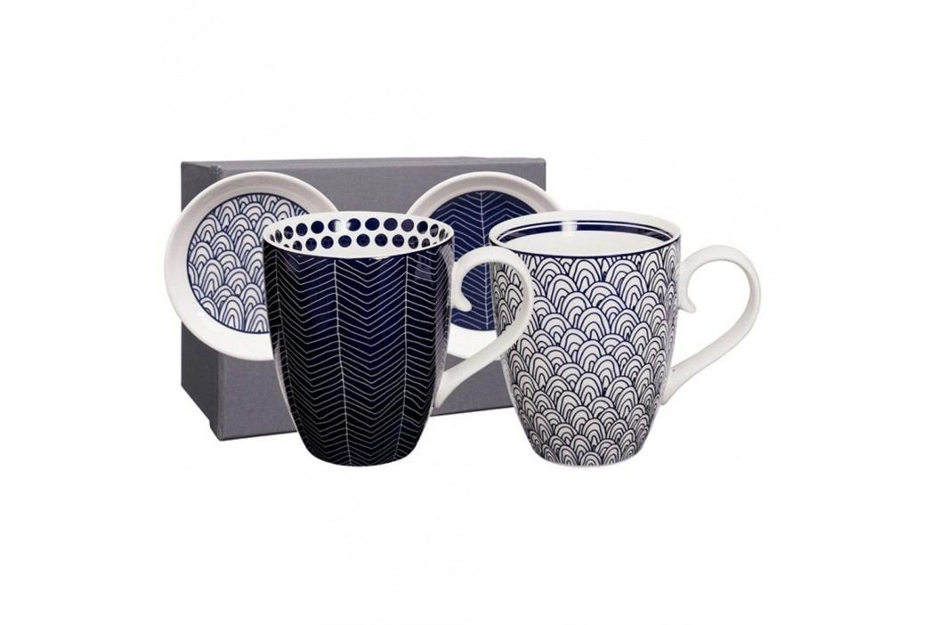 Set cadou 2 căni cu farfurie Tokyo Design Studio Yoko Căni