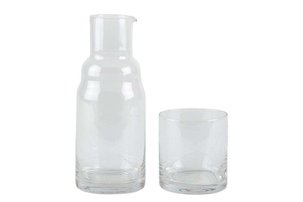 Set sticlă și pahar Villa Collection Carafe