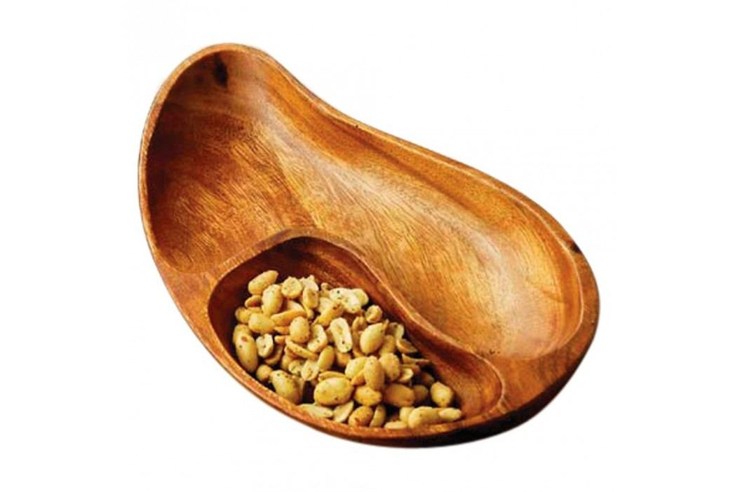Platou servire lemn salcâm Premier Housewares Socorro Woodes Castroane și boluri