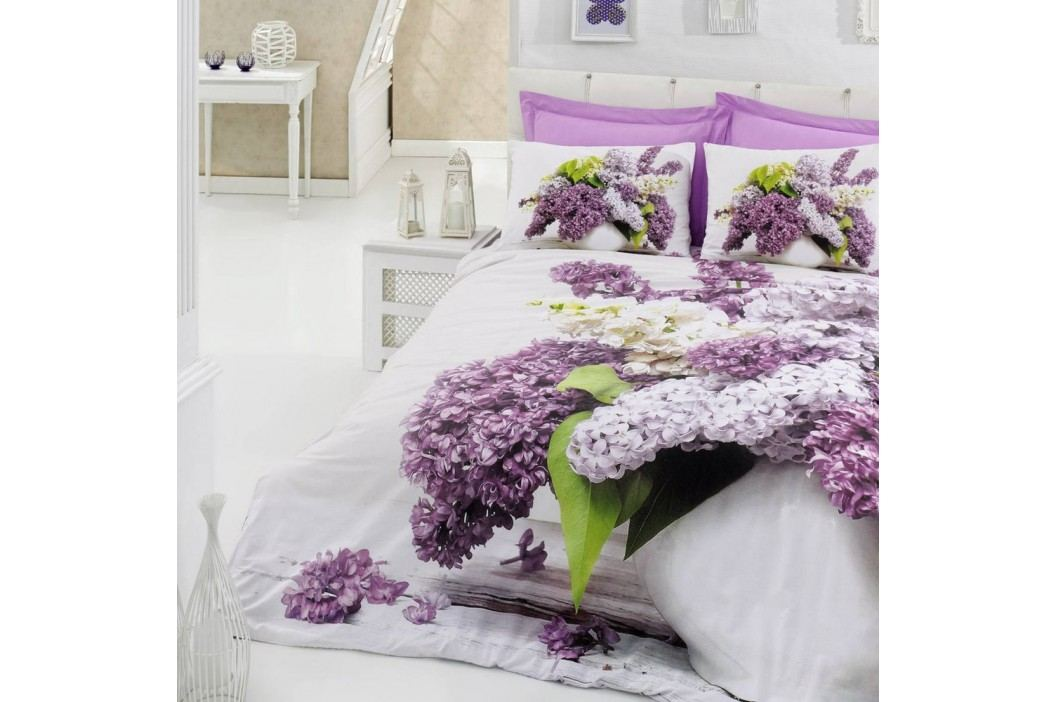 Lenjerie de pat cu cearșaf din bumbac Vilma, 200x220cm Lenjerii de pat și așternuturi