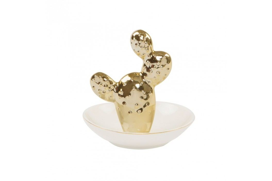 Bol decorativ Sass & Belle Gold Cactus Castroane și boluri