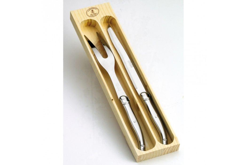 Set pentru tăiat, în cutie de lemn, Jean Dubost Cuțite
