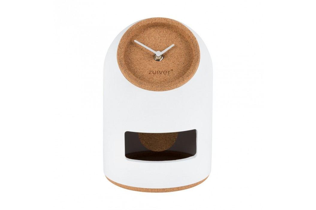 Ceas de masă Zuiver Uno, alb Ceasuri și alarme
