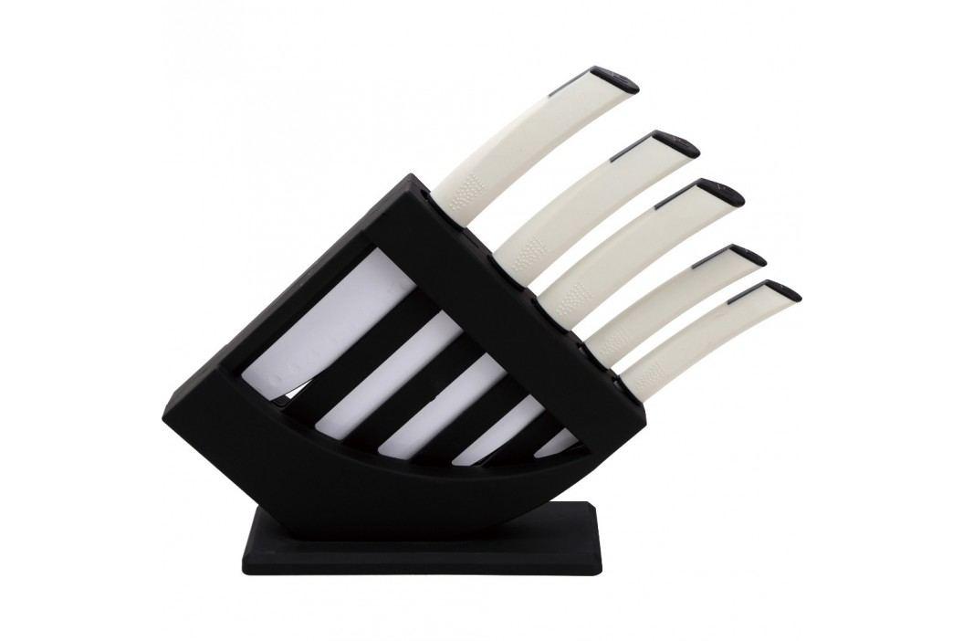 Set cuţite cu suport Bergner, 5 piese Cuțite