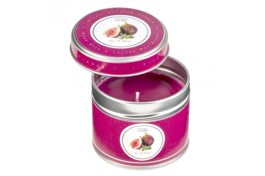 Lumânare parfumată în cutie Copenhagen Candles Fig & Herb, 32 ore Lumânări și lămpi difuzoare