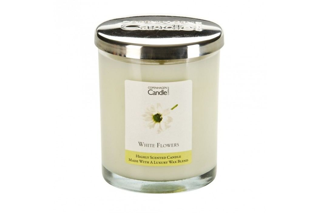 Lumânare parfumată Copenhagen Candles White Flowers, 40 ore Lumânări și lămpi difuzoare