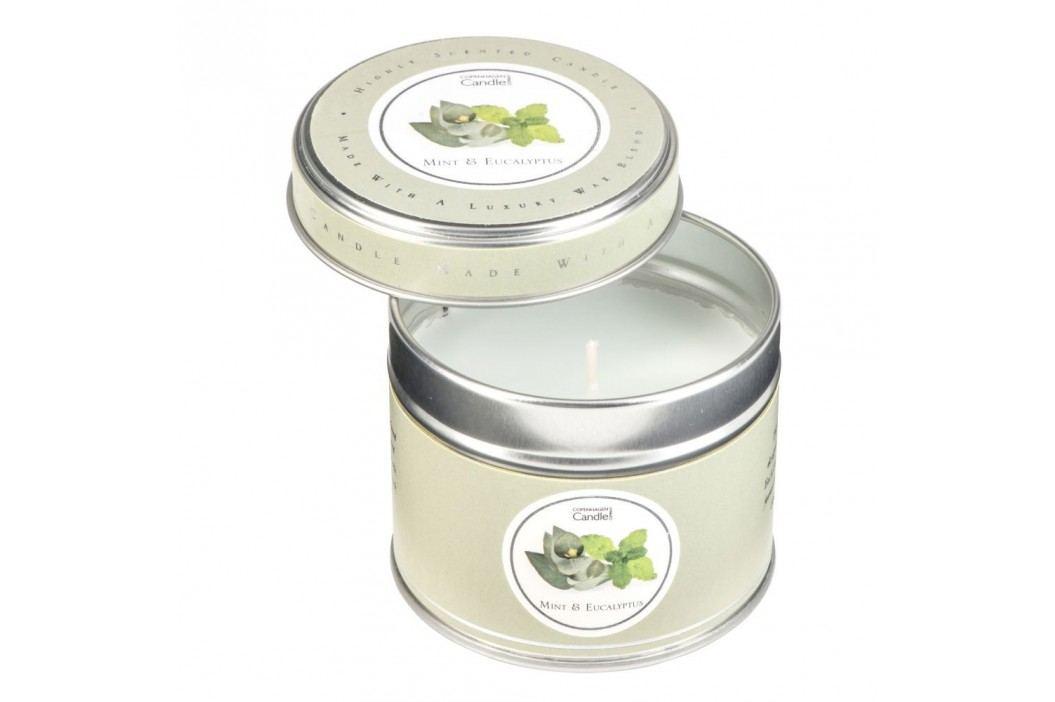 Lumânare parfumată în cutie Copenhagen Candles Mint & Eucalyptus, 32 ore Lumânări și lămpi difuzoare