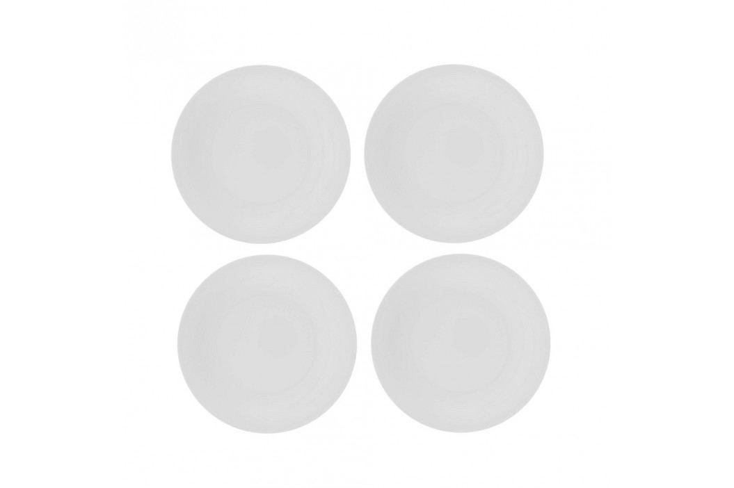 Set 4 farfurii de porțelan Sola Chic Lunasol, 21 cm Farfurii