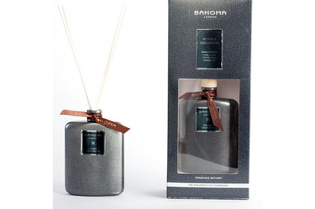 Difuzor de parfum Bahoma London, aromă de lemn de cedru si vetiver, 100 ml Lumânări și lămpi difuzoare