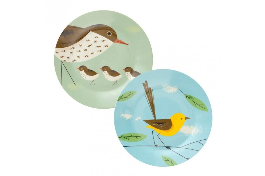 Set 2 farfurii Magpie Birdy, Ø26 cm Farfurii