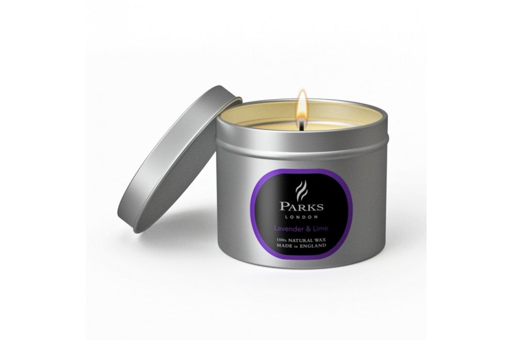 Lumânare Parks Candles London Lavender, 25 de ore de ardere, aromă de lavandă și lămâie verde Lumânări și lămpi difuzoare