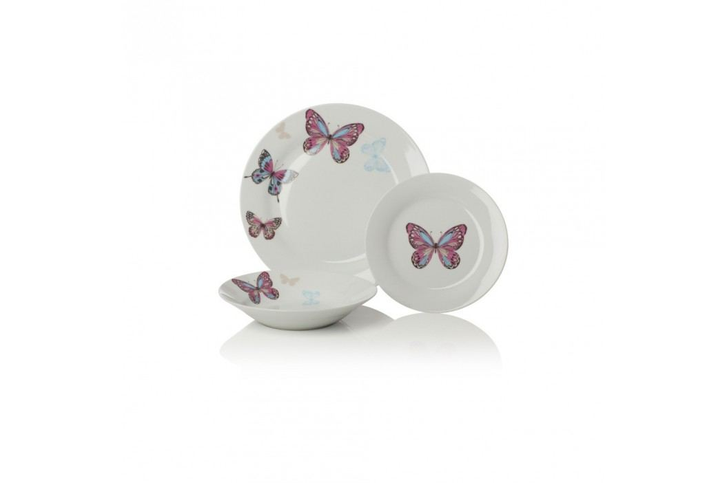 Set 12 buc. veselă Sabichi Mariposa Farfurii