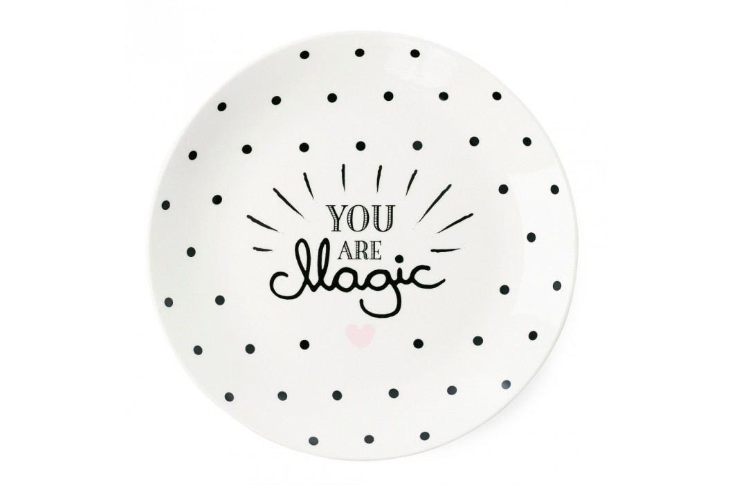 Farfurie ceramică Miss Étoile You Are Magic, ⌀ 17 cm Farfurii