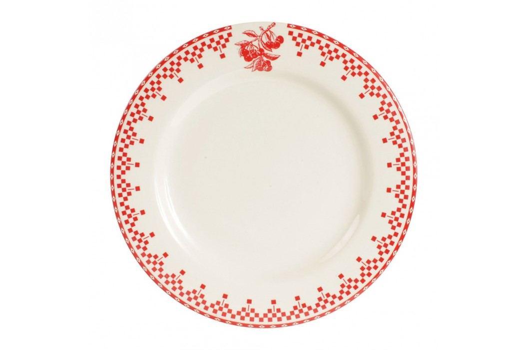 Farfurie Comptoir de Famille Damier, 27 cm, roșu - alb Farfurii