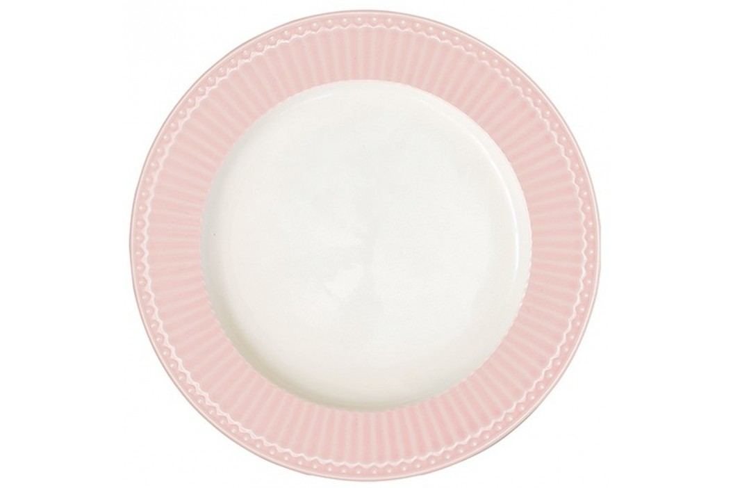 Farfurie Green Gate Alice, diametru 26,5 cm, roz Farfurii