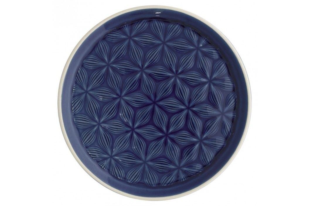 Farfurie din ceramică Green Gate Kallia, diametru 20,5 cm, albastru închis Farfurii