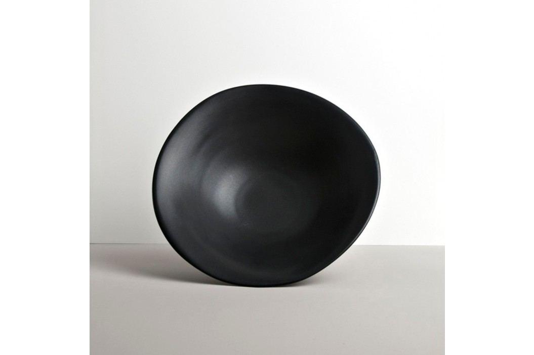 Farfurie ceramică adâncă Made In Japan Modern, ⌀ 24 cm, negru Farfurii