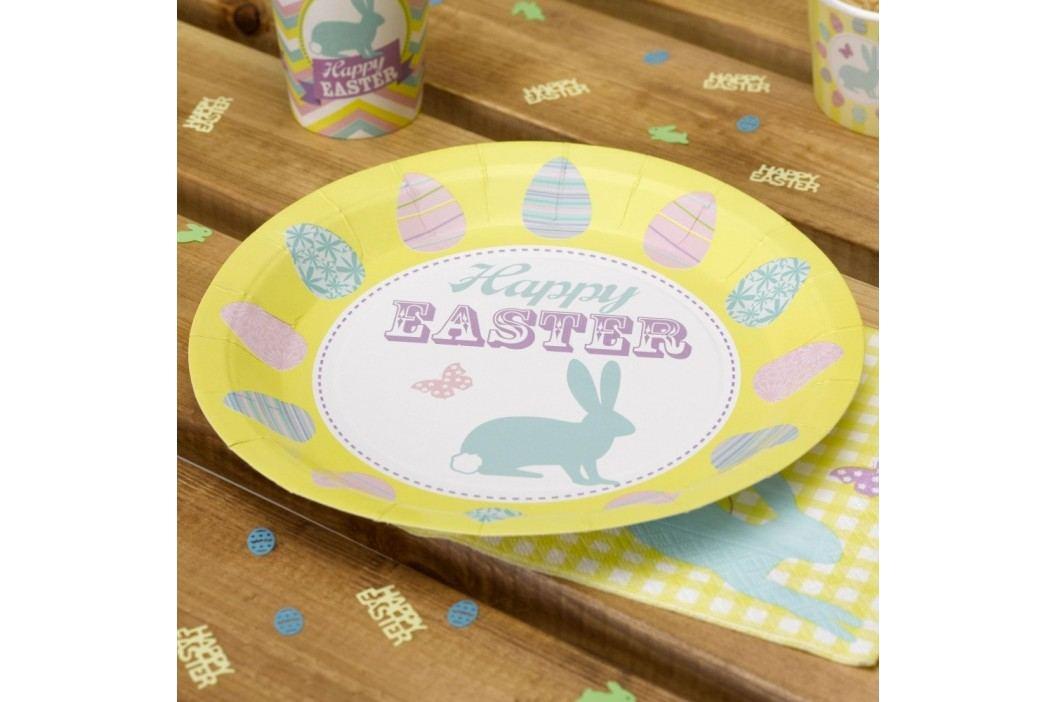 Set 8 farfurii din hârtie Neviti Happy Easter Farfurii