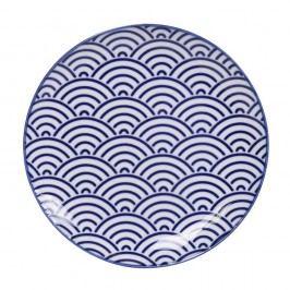 Farfurie din porțelan Tokyo Design Studio Wave, ø 16 cm