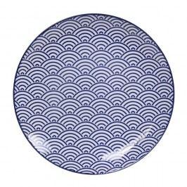 Farfurie din porțelan Tokyo Design Studio Wave, ø 25,7 cm