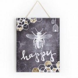 Tablou Graham & Brown Bee Happy, 40 x 50 cm