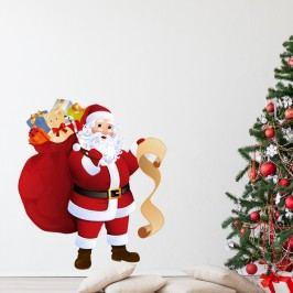 Autocolant de Crăciun Ambiance Santa Claus and Gift List