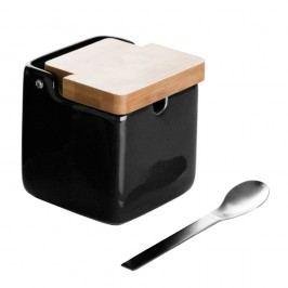 Zaharniță cu linguriță Versa Black Basic