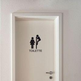 Autocolant Fanastick Toilettes Funny