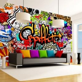 Tapet format mare Artgeist Colourful Graffiti, 400 x 280 cm