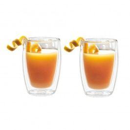 Set 2 pahare cu pereți dubli Bredemeijer Juice, 270 ml
