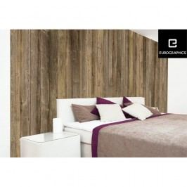 Tapet format mare Eurographics Brown Wood Wall