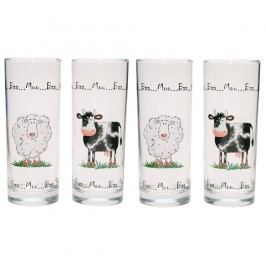 Set 4 pahare Home Farm, 350 ml